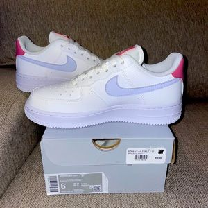 Nike Air Force 1 Low White Desert Berry